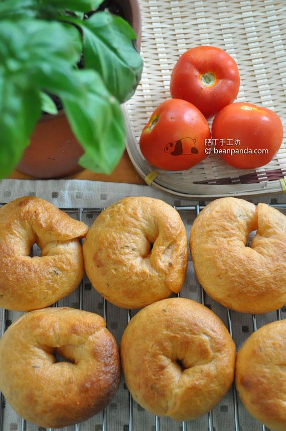 蕃茄羅勒貝果【意式風情】Tomato Bagel
