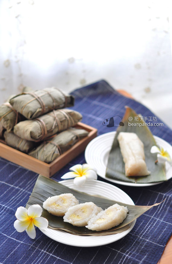 奶蕉糯米糉【越式甜品】Glutinous Rice Banana Rolls