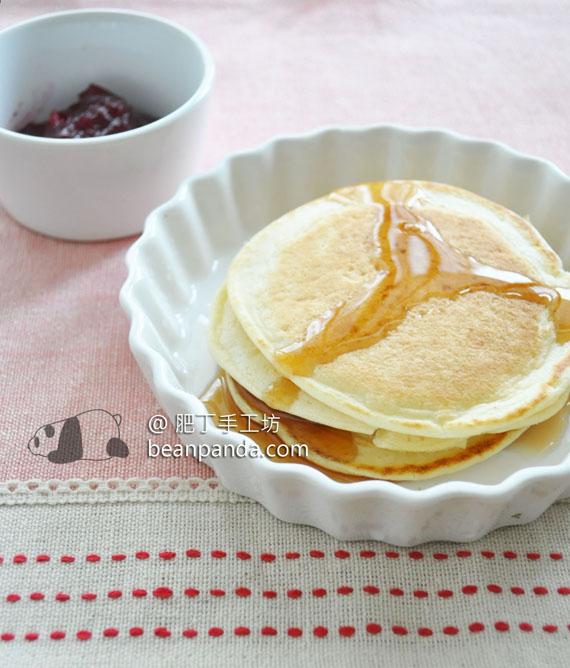 熱香餅【無泡打粉】Pancake