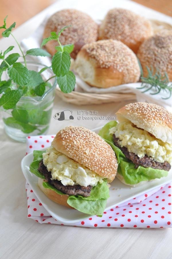 手工漢堡包【湯種】Tangzhong Hamburger