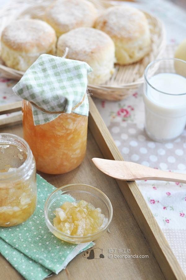 蘋果雪梨果醬【香甜滋潤】Apple Pear Jam