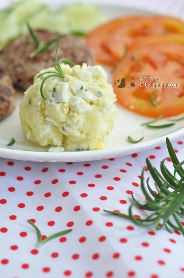 薯仔碎蛋沙律【簡單就是美味】Potato Egg Salad