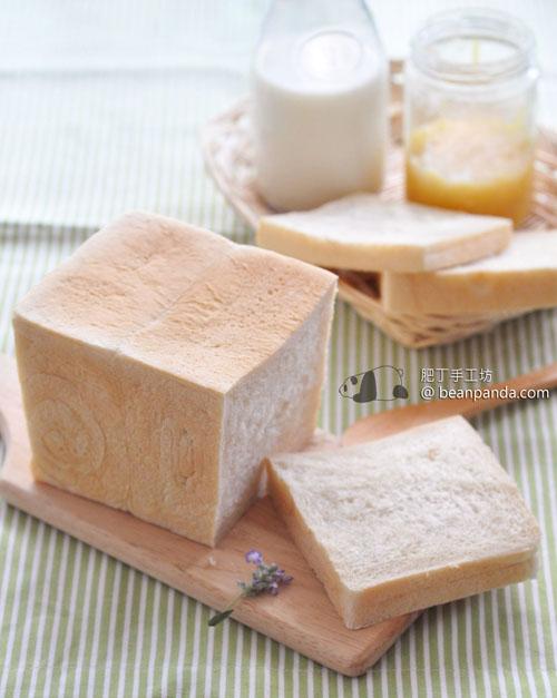 白吐司【用Kitchen Aid試做中種麵包】White Toast