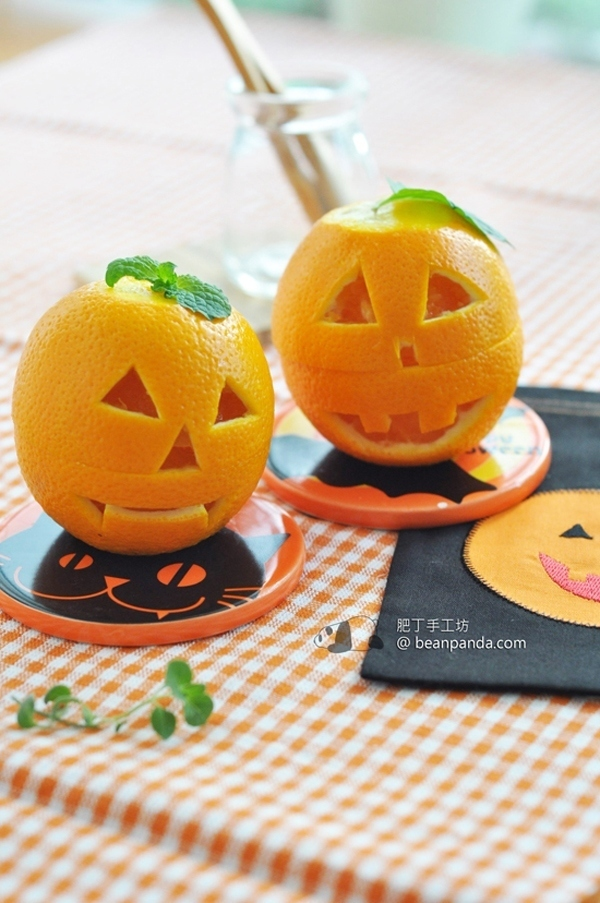 香橙果凍杯【哈囉喂派對第二擊】Halloween Orange Jelly Cup