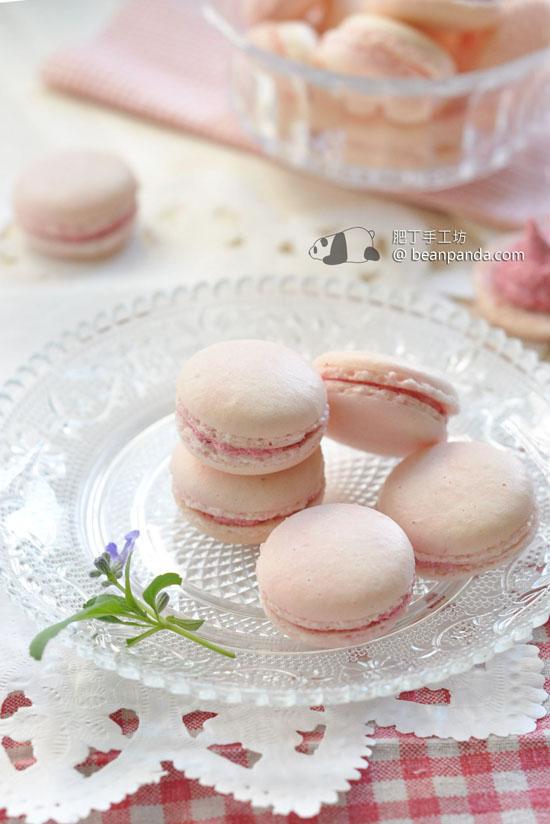 樹莓馬卡龍【初戀之味 / 法式蛋白霜】Raspberry Macaron
