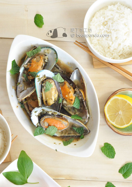 越式甜酸炒青口【清新開胃】Sweet and Sour Mussel