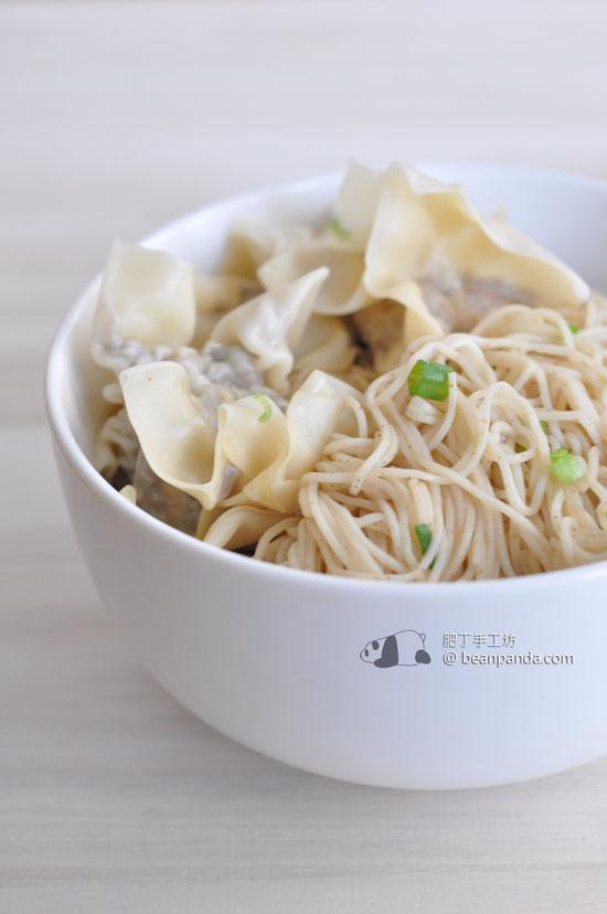 鮮蝦木耳雲吞【爽滑彈牙】Shrimp Wonton Noodles