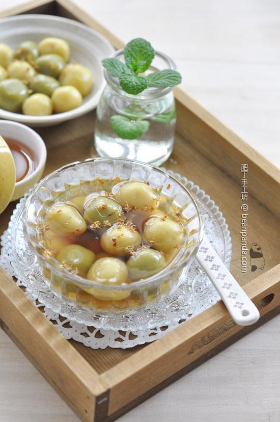 蕃薯片糖流心湯圓【金玉滿堂】Brown Sugar Dumplings