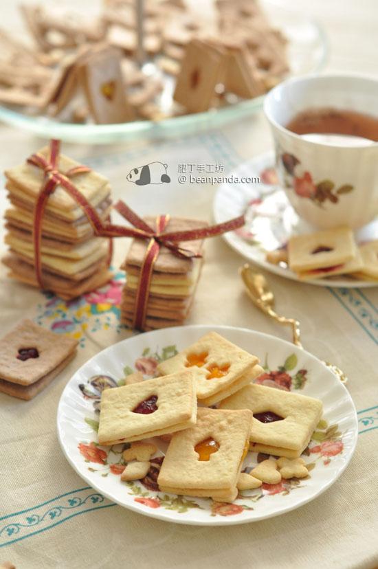 撲克果醬夾心餅乾【聖誕派對小吃 / 無牛油】Poker Biscuit