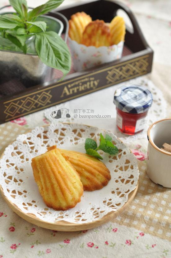 瑪德蓮貝殼小蛋糕【無泡打粉】Madeleine