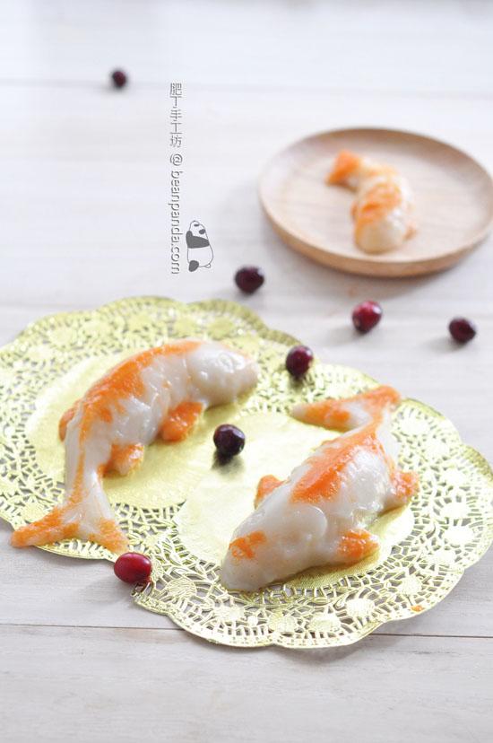 椰汁鯉魚年糕【魚躍龍門 / 無色素】Carpio Nian Gao