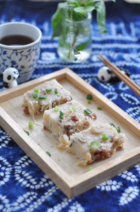 蘿蔔糕【賀年必吃】Turnip Cake