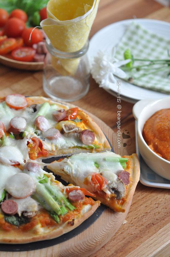 極速香脆薄餅【無需發酵】Non-fermented Pizza