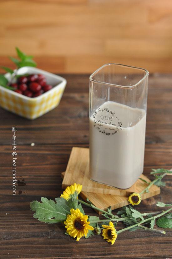 紅豆豆漿【沒有豆漿機的日子】Red Bean Soy Milk