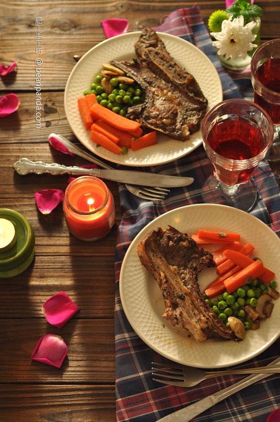 黑醋香草焗羊扒【簡易光波爐食譜】Balsamic Herb Lamb Chops