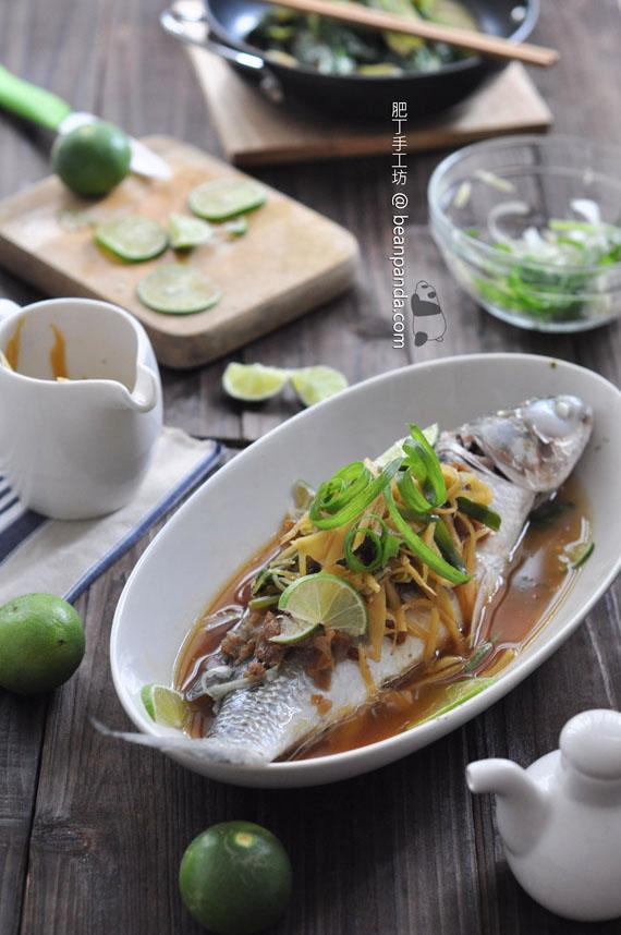 鹹檸檬蒸烏頭魚 ~ 肥美甘香