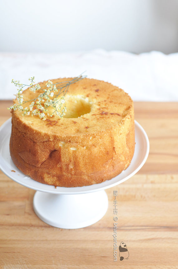 鹹柑桔青檸蜜戚風蛋糕【傳統的風采】Kumquat Chiffon