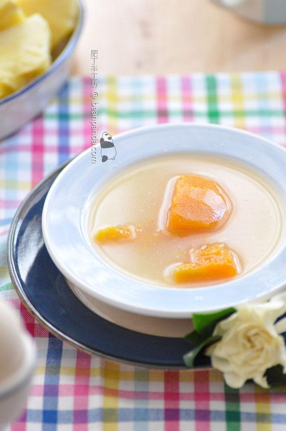 南瓜紅衫魚湯 ~ 鮮甜美味