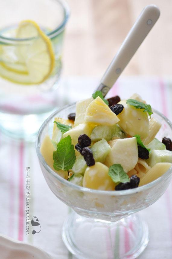 蔬果蛋黃醬沙律【減肥免進】Fruit Salad