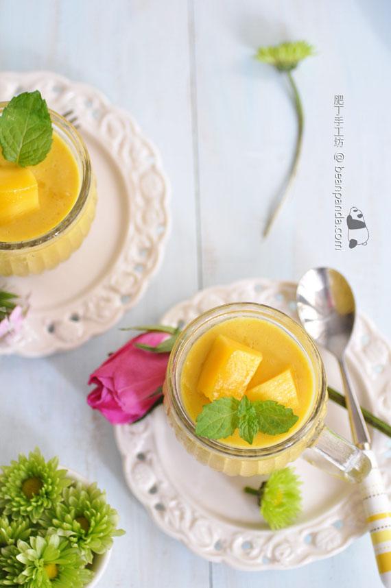 芒果椰子布丁【真芒果滋味 / 無香料色素】Mango-Pudding