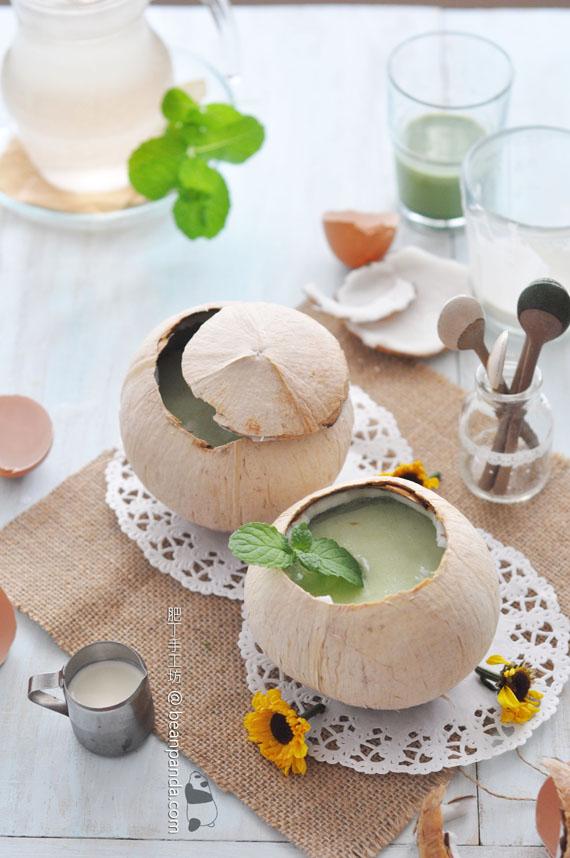 班蘭椰皇燉蛋白【香滑養顏】Steamed Egg White With Coconut