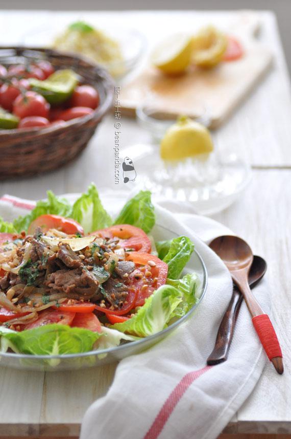 越式蕃茄牛肉沙律【輕怡醒胃】Vietnamese Beef Tomato Salad