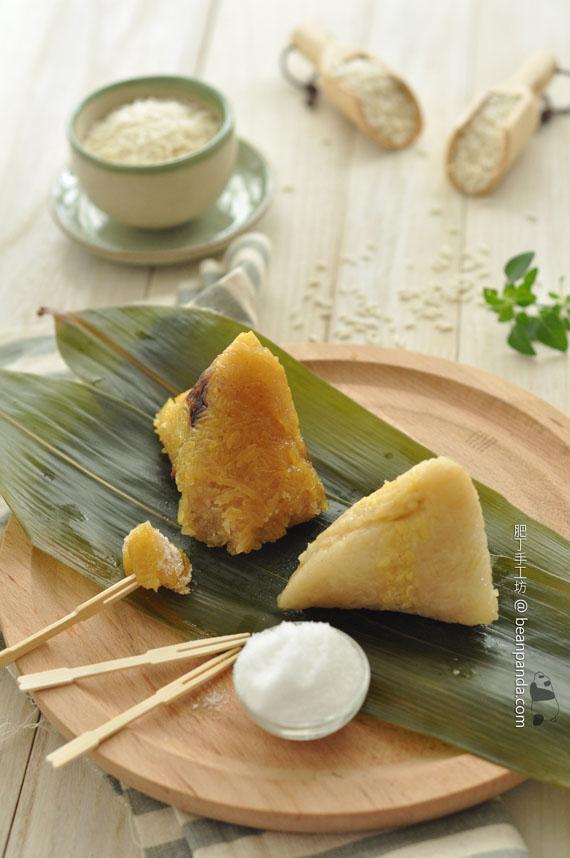 紅豆鹼水糉 / 蛋黄鹹肉糉【輕量版】Sticky Rice Dumplings