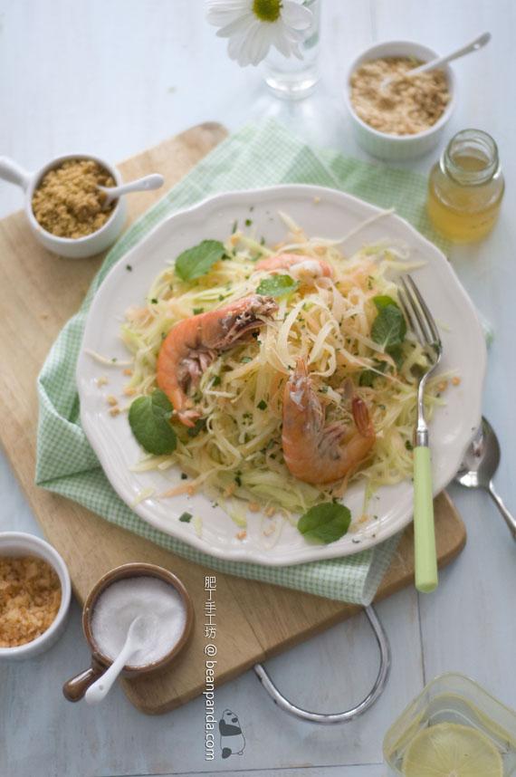 青木瓜芒果鮮蝦沙律【清涼爽脆】Papaya Salad