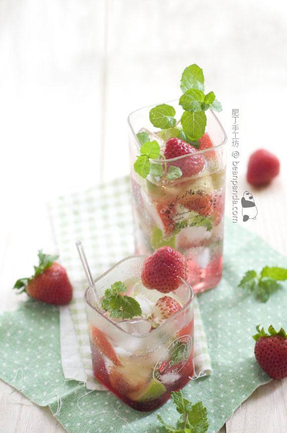 Mojito 古巴雞尾酒【水果口味】Mojito Strawberry