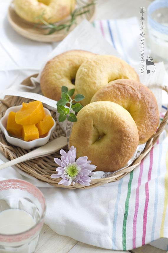 南瓜貝果【嚼勁十足】Pumpkin Bagel