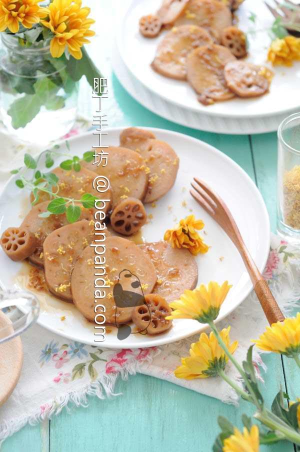 桂花糖藕【江南小點】Lotus Root with Sweet Sauce
