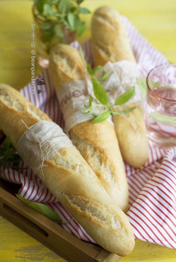 越南法式長棍麵包 Bánh Mì【外酥內軟】Vietnamese Baguette
