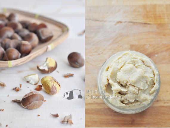栗子蓉 / 蕃薯蓉【萬用餡料之二 】Chestnut Sweet Potato Paste