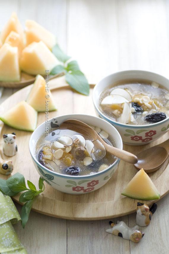 海底椰哈密瓜豬展骨湯【滋陰潤肺 / 秋天湯水】Coco Mami Melon Soup
