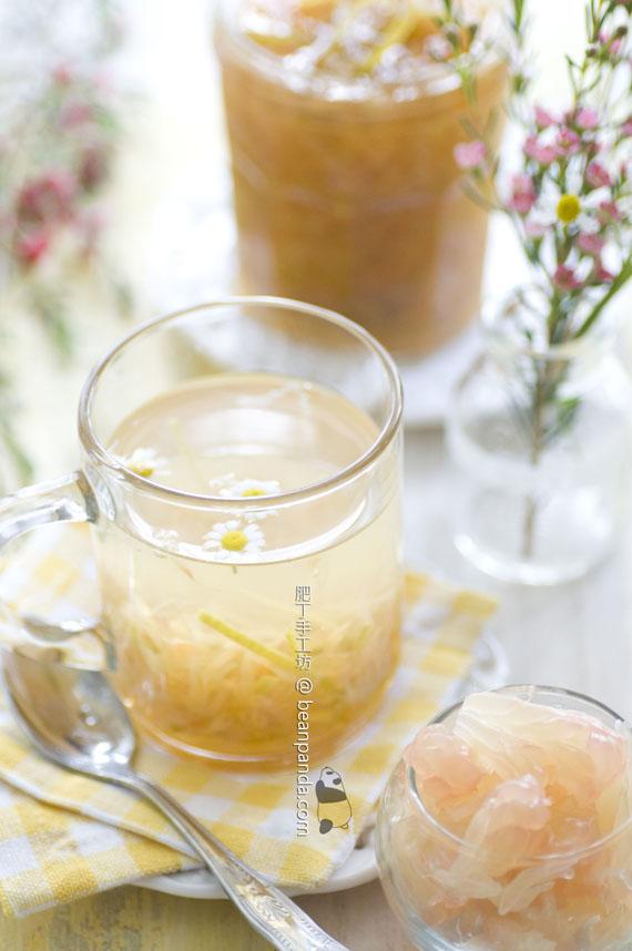 自製柚子蜜【秋冬甜蜜蜜】Honey Pomelo Tea