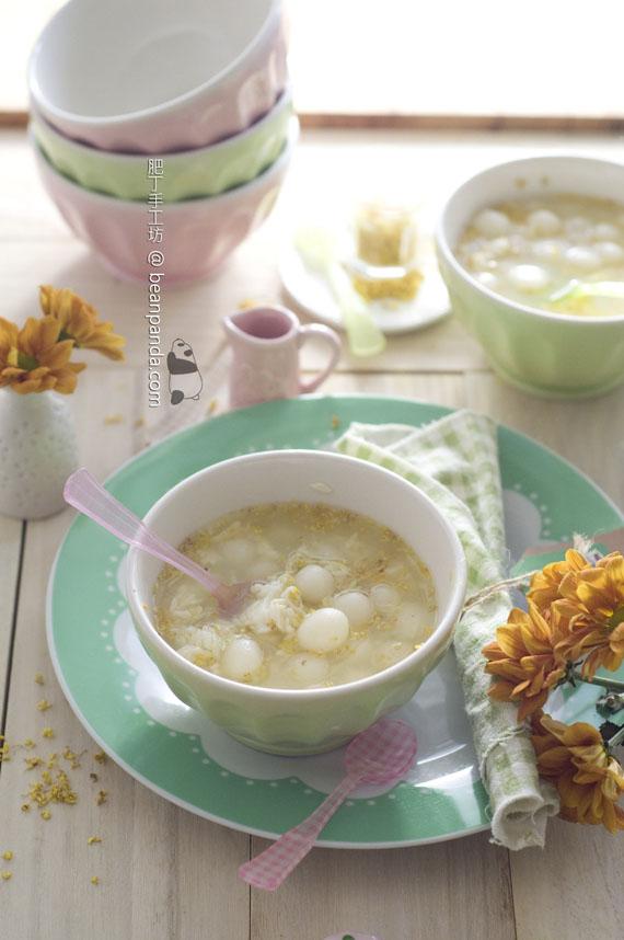 桂花酒釀丸子【清香雅淡】Osmanthus Jiuniang Dumplings