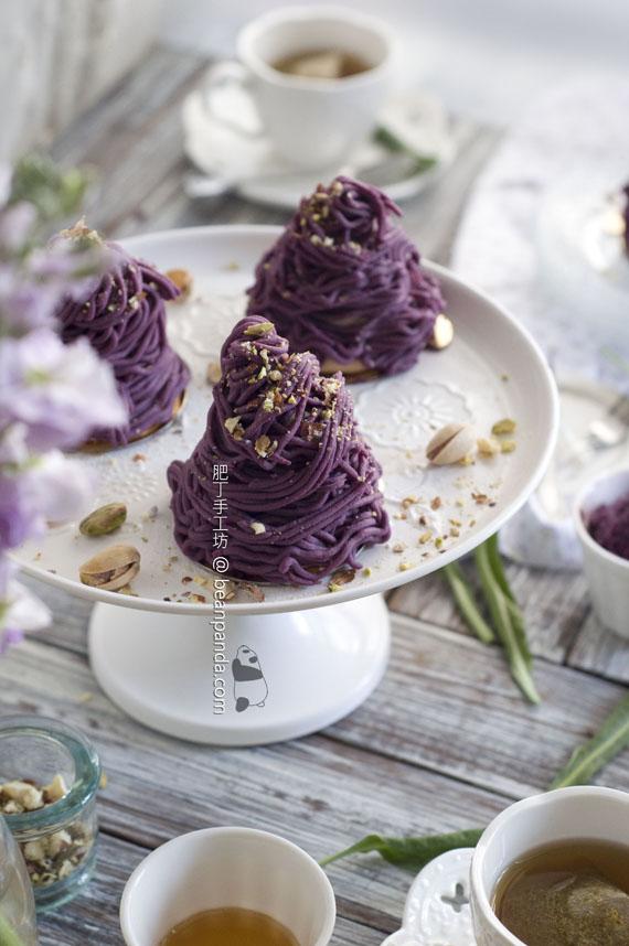 紫薯蒙布朗【浪漫驚喜】Purple Sweet Potato Mont-blanc