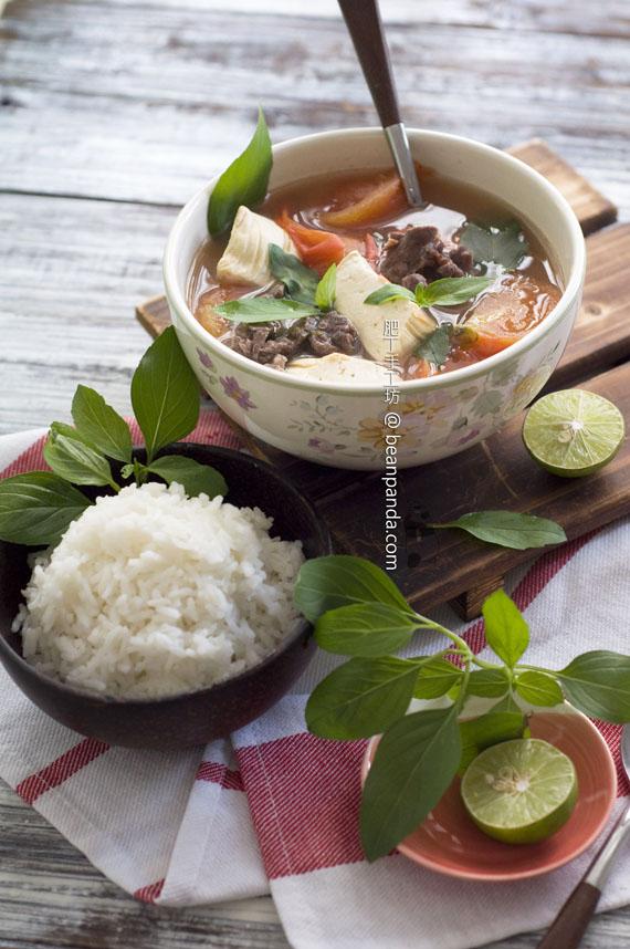 蕃茄牛肉豆腐湯【暖心暖胃】Tomato Beef Soup