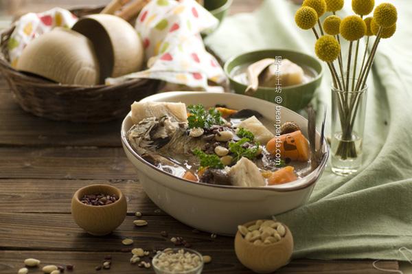 粉葛鯽魚瘦肉湯【健脾去濕】Kduzu Root Soup
