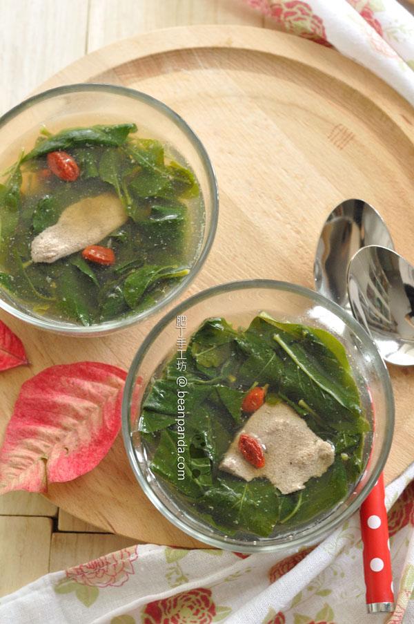 枸杞豬肝湯【明目養肝】Lycium Chinense Pig Liver Soup