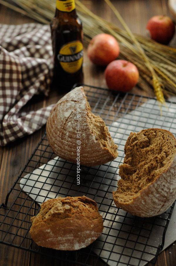 黑啤裸麥鄉村麵包【粗獷滋味】Rye Beer Bread