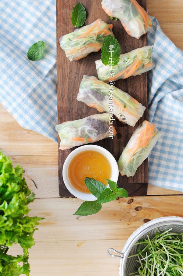 越南米紙卷【迷你鮮蝦版】Vietnamese Summer Rolls