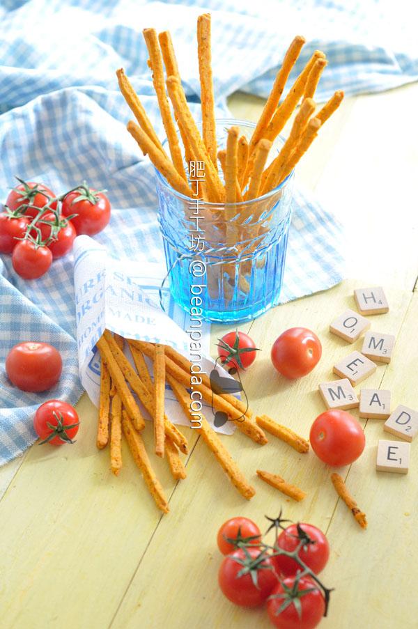 番茄餅乾條【仿百力滋】 ( 附油浸蕃茄乾食譜 ) Homemade Tomato Pretz
