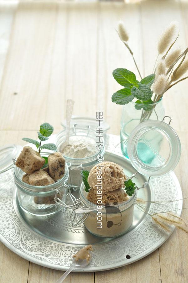 黑糖蕎麥雪糕【無蛋奶冰品】Buckwheat Icecream