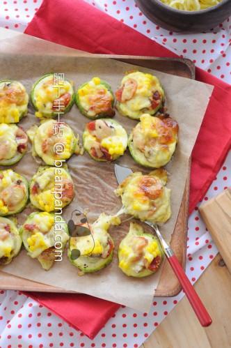 翠玉瓜披薩【夏日蔬菜輕食】Zucchini Pizza