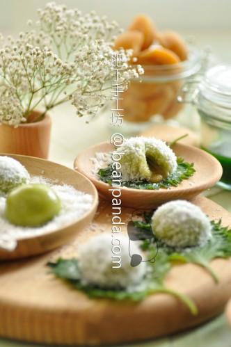 班蘭流心糯米糍【東南亞風】Pandan Glutinous Rice Balls