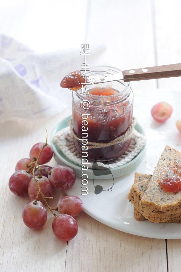 葡萄果醬【紫玉晶瑩】Homemade Grape Jam