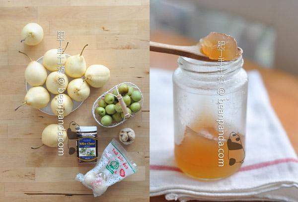 秋梨膏【無中藥 / 清心潤肺】Pear Syrup
