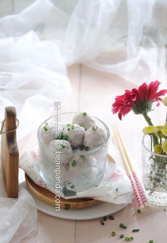 手打魚肉 (無蛋白/麵包機)【爽口彈牙】Homemade Fish Ball