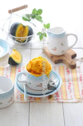 南瓜乳酪冰淇淋【無雞蛋、砂糖】Pumpkin Yogurt Ice Cream